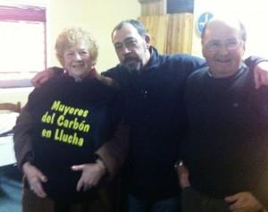 Con Anita Sirgo e Ignacio Peón
